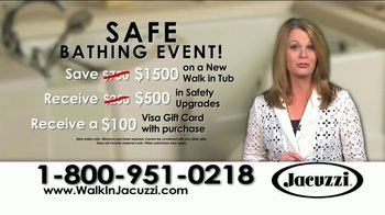 Jacuzzi Safe Bathing Event TV Spot, 'Safe and Relaxing' - Thumbnail 4