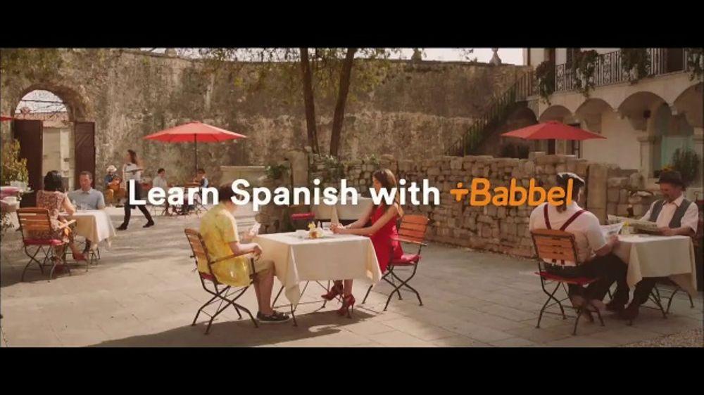 Babbel TV Commercial, 'Tell Me More!'