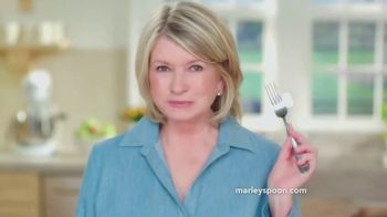 Martha & Marley Spoon TV Spot, \'No More Ifs\' Featuring Martha Stewart