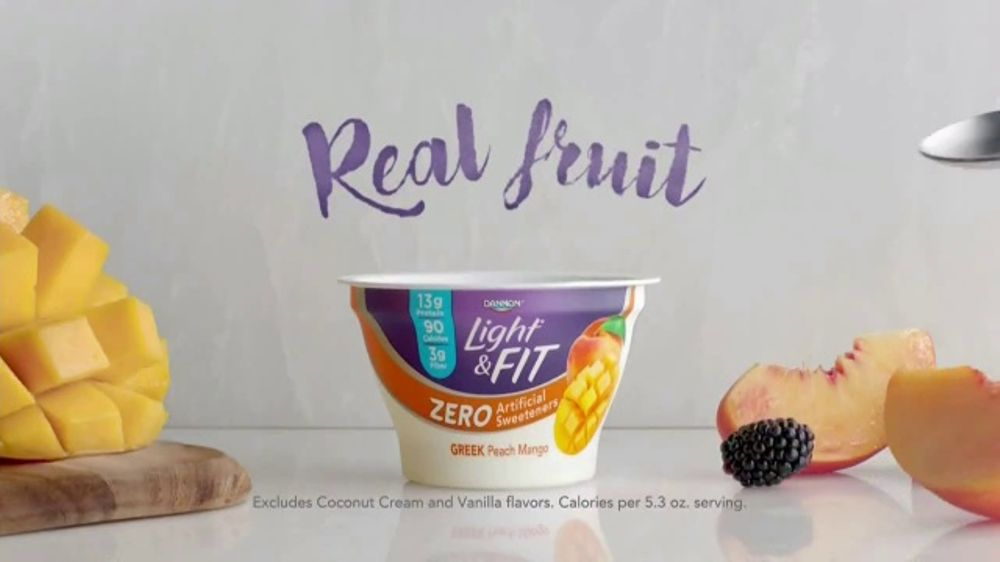 Dannon Light & Fit Greek TV Commercial, 'Rethinking Light Yogurt' - Video