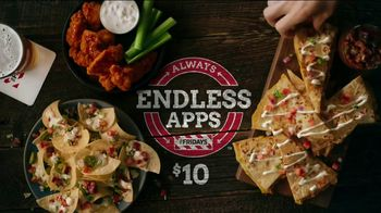 TGI Friday's Endless Apps TV Spot, 'Bacon Nachos and Chicken Quesadillas' - Thumbnail 6