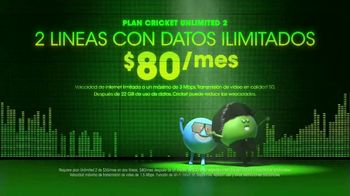 Cricket Wireless Unlimited 2 Plan TV Spot, 'Muévete al ritmo' [Spanish] - Thumbnail 3