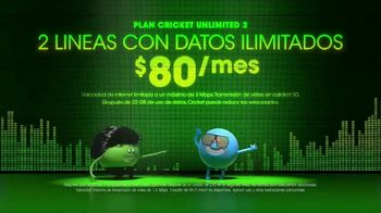 Cricket Wireless Unlimited 2 Plan TV Spot, 'Muévete al ritmo' [Spanish] - Thumbnail 4