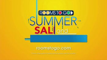 Rooms to Go Summer Sale and Clearance TV Spot, 'Five Piece Bedroom' - Thumbnail 10