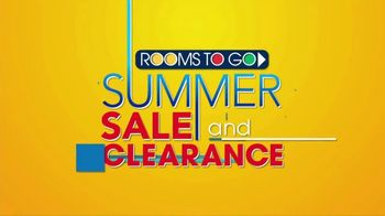 Rooms to Go Summer Sale and Clearance TV Spot, 'Five Piece Bedroom' - Thumbnail 2
