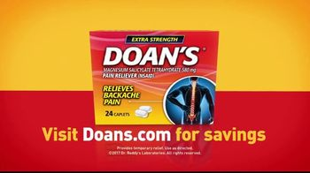 Doan's TV Spot, 'It's Just Not the Same With Back Pain' - Thumbnail 6