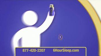 6 Hour Sleep TV Spot, 'Sleep Tonight' - Thumbnail 6