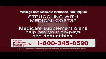 Medicare Insurance Plan Helpline TV Spot, 'Supplement Plans' - Thumbnail 2