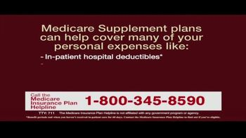 Medicare Insurance Plan Helpline TV Spot, 'Supplement Plans' - Thumbnail 6