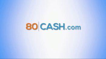 80cash TV Spot, 'In a Matter of Minutes' - Thumbnail 3