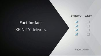 XFINITY X1 TV and Internet TV Spot, 'Fact for Fact: $30' - Thumbnail 5