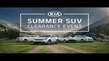 Kia Summer SUV Clearance Event TV Spot, 'Award-Winning SUVs' [T2]