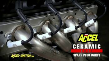 Accel Ceramic Boot Spark Plug Wires TV Spot, 'Eliminate Burnt Wires' - Thumbnail 2
