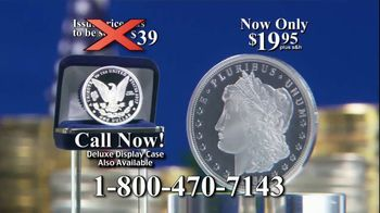 National Collector's Mint TV Spot, '1964 Morgan Silver Dollar: Vault' - Thumbnail 7