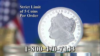 National Collector's Mint TV Spot, '1964 Morgan Silver Dollar: Vault' - Thumbnail 6
