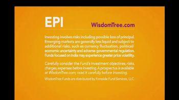 WisdomTree TV Spot, 'Broad India ETF' - Thumbnail 8