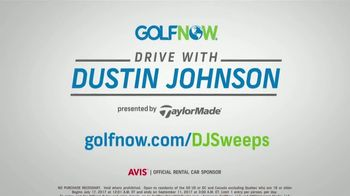 GolfNow Drive With Dustin Johnson Sweepstakes TV Spot, 'Tee It Up' - Thumbnail 5