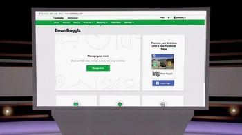 GoDaddy GoCentral Online Store TV Spot, 'ABC: Bean Bagglz' - Thumbnail 7