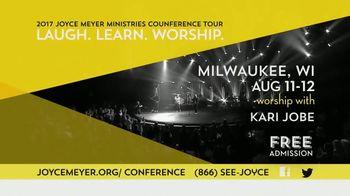 2017 Joyce Meyer Ministries Conference Tour TV Spot, 'Atlanta & Milwaukee' - Thumbnail 6