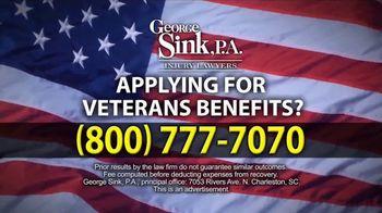 George Sink, P.A. TV Spot, 'Veterans Benefits' - Thumbnail 8