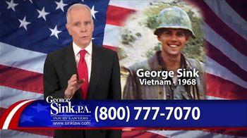 George Sink, P.A. TV Spot, 'Veterans Benefits' - Thumbnail 2