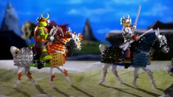 Tales of the Teenage Mutant Ninja Turtles TV Spot, 'Samurai Basic Figures' - Thumbnail 3