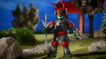 Tales of the Teenage Mutant Ninja Turtles TV Spot, 'Samurai Basic Figures' - Thumbnail 6