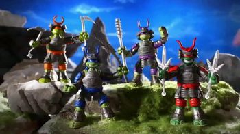 Tales of the Teenage Mutant Ninja Turtles TV Spot, 'Samurai Basic Figures'