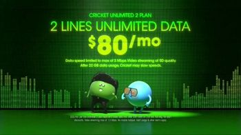 Cricket Wireless Unlimited 2 Plan TV Spot, 'Get Low' - Thumbnail 2