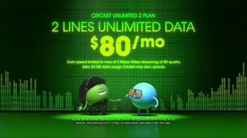 Cricket Wireless Unlimited 2 Plan TV Spot, 'Get Low'