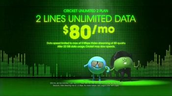 Cricket Wireless Unlimited 2 Plan TV Spot, 'Get Low' - Thumbnail 4