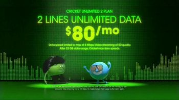 Cricket Wireless Unlimited 2 Plan TV Spot, 'Get Low' - Thumbnail 5