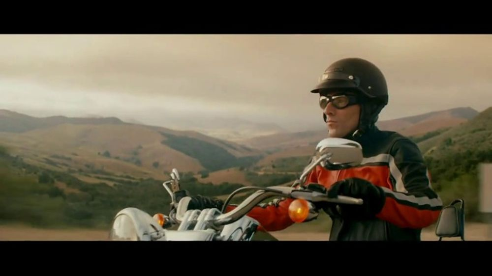 Pity, redhead in geico motorcycle commercial