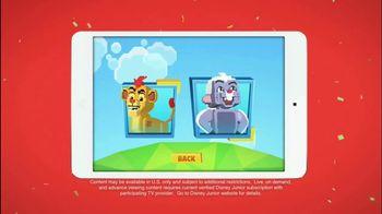 Disney Junior App TV Spot, 'The Lion Guard: Super Summer Arcade'