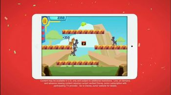 Disney Junior App TV Spot, 'The Lion Guard: Super Summer Arcade' - Thumbnail 4