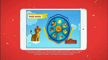 Disney Junior App TV Spot, 'The Lion Guard: Super Summer Arcade' - Thumbnail 5