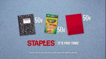 Staples TV Spot, 'Back to School Like a Pro: Champion' - Thumbnail 9