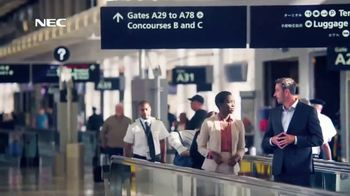 NEC Technologies TV Spot, 'Keeping People Safe, Connected & Moving Forward' - Thumbnail 6