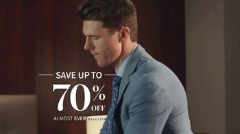 JoS. A. Bank One Day Sale TV Spot, 'Up to 70 Percent Off Almost Everything' - Thumbnail 3