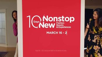 JCPenney 10 Days of Nonstop New Event TV Spot, 'New Deals' Song by Redbone - Thumbnail 8