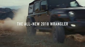 2018 Jeep Wrangler TV Spot, 'Freedom and Adventure' [T1] - Thumbnail 6