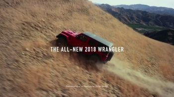 2018 Jeep Wrangler TV Spot, 'Freedom and Adventure' [T1] - Thumbnail 2