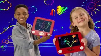 Etch A Sketch Freestyle TV Spot, 'Draw, Stamp, Create: Princess' - 387 commercial airings