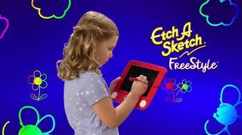 Etch A Sketch Freestyle TV Spot, 'Draw, Stamp, Create: Princess' - Thumbnail 2