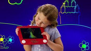 Etch A Sketch Freestyle TV Spot, 'Draw, Stamp, Create: Princess' - Thumbnail 5