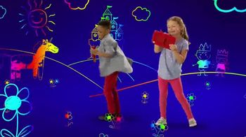 Etch A Sketch Freestyle TV Spot, 'Draw, Stamp, Create: Princess' - Thumbnail 6