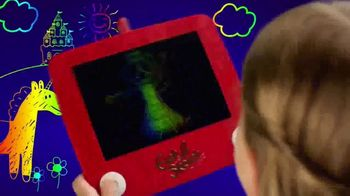 Etch A Sketch Freestyle TV Spot, 'Draw, Stamp, Create: Princess' - Thumbnail 7