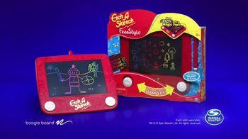 Etch A Sketch Freestyle TV Spot, 'Draw, Stamp, Create: Princess' - Thumbnail 9