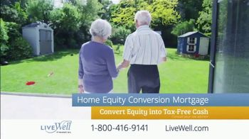 Live Well Financial TV Spot, 'Home Equity Conversion Mortgages' - Thumbnail 6