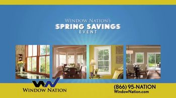 Window Nation Spring Savings Event TV Spot, 'Two Free Windows' - Thumbnail 1